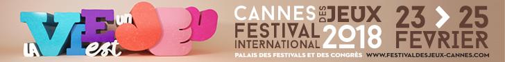 Festival des Jeux de cannes 2018