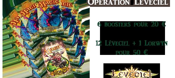 Opération Lèveciel : des boosters Magic à prix cassés
